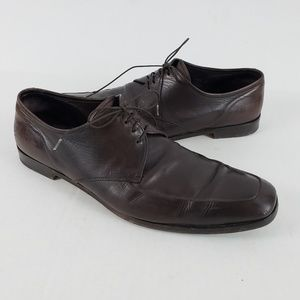 Prada Milano Men Dress Oxford Shoe Lace Brown